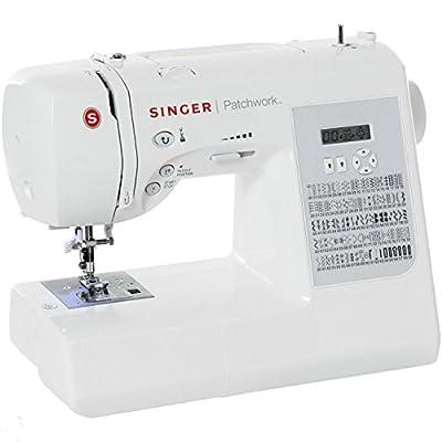 Singer Patchwork 7285Q - Máquina electrónica dedicada al quilt, color blanco de Singer