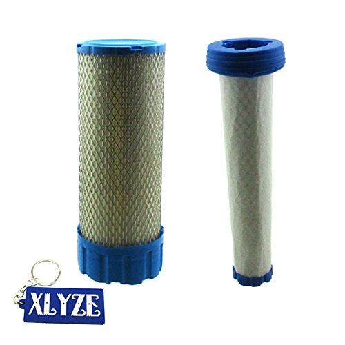 xlyze-Luftfilter für Kawasaki 11013–7038Perücke 11013–7039fx751V fx801V fx850V fx921V fx1000V John Deere z830a z850a Z860A Z925Z930Z950Z960Z970ztrak Rasenmäher