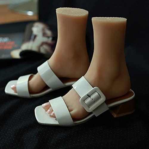 Yongqin Modelo De Pie De Silicona Tpe Con Uñas Modelo De Pies De Persona Real Realista Para Mostrar Fetiche De Pies De Pintura Médica, Izquierda