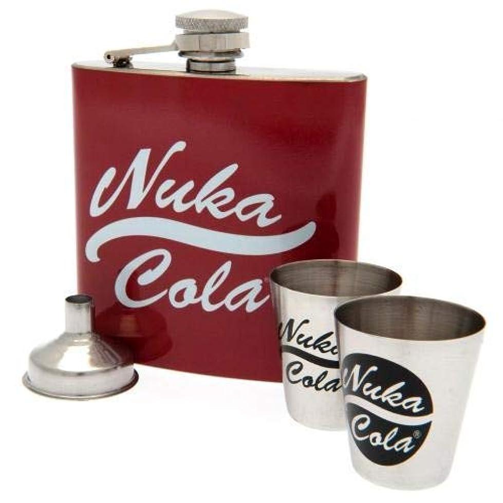 淡いシロクマ凶暴な(フォールアウト) Fallout オフィシャル商品 Nuka Cola ヒップフラスコ セット スキットル