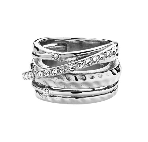 Dyrberg/Kern Damen-Ring WENDOLYN II SS Crystal 332747