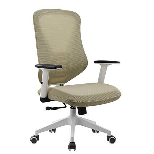 QIAOLI Sillas de oficina modernas y minimalistas para estudiantes, sillas de aprendizaje, escritorios, sillas giratorias, sillas de ordenador, sillas de oficina (color: B)