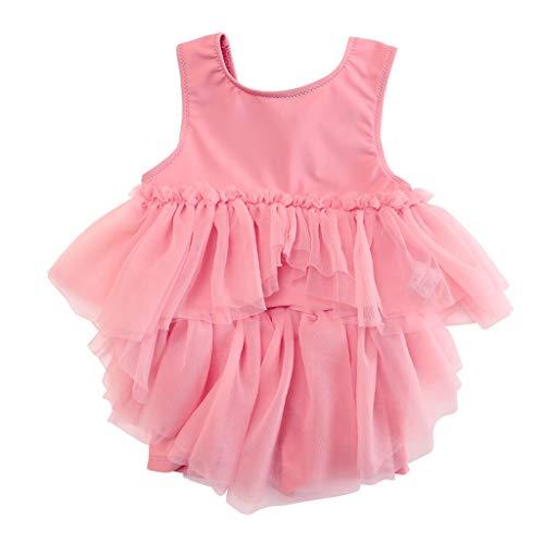 GCX- Meisjes Badmode Baby Girl garen rok zomerjurk Swimsuit Summer Vacation Beach zwempak uit één stuk Mode (Size : 120cm)