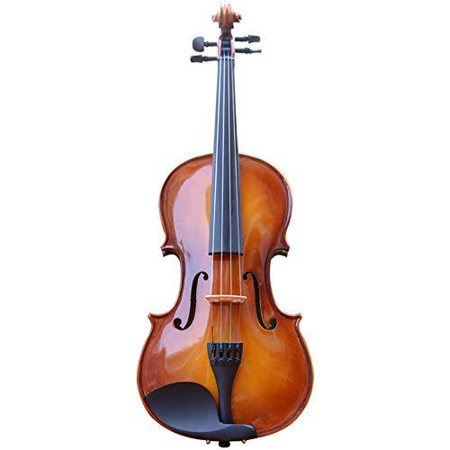 Violino Dimensioni Violin Abete Acero Materiale prassi esecutiva Completa 4/4 di Violino (Colore : Marrone, Size : 4/4)