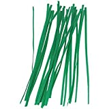 Bond Manufacturing Miracle- Gro Twist Ties, 8 inch, Green (100 Pack)