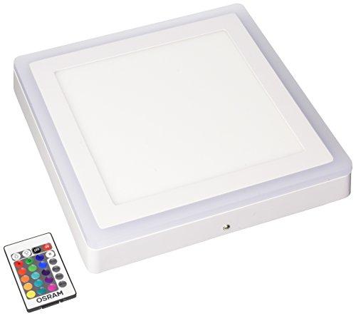 Preisvergleich Produktbild Osram LED Wand- und Deckenleuchte,  Leuchte für Innenanwendungen,  Warmweiß,  300, 0 mm x 300, 0 mm x 45, 0 mm,  LED Color und White