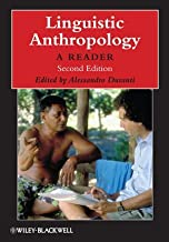 Linguistic Anthropology: A Reader [Hardcover] [2009] (Author) Alessandro Duranti