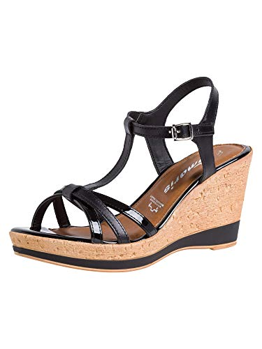 Tamaris Damen Sandalette 1-1-28347-24 001 normal Größe: 40 EU