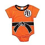 hellomiko Baby Boys Romper Ropa de algodón Mono de Dibujos Animados Wukong Jumpsuit Ropa de bebé Cute Onesies
