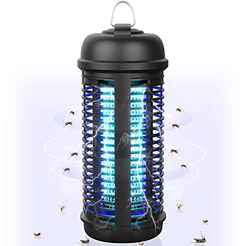 Bug Zapper for Outdoor and Indoor, 4200V 18W High-Efficiency...