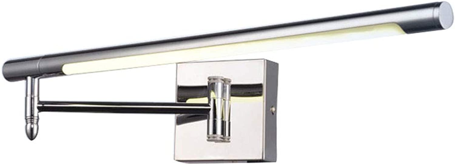 LED-Stretch-Einstellung Side Mounted Bad Spiegelschrank Licht 6W (Warmweies Licht, 51cm)