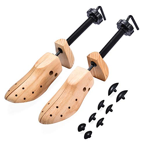 EST New Two Way Women Men Shoe Stretcher for Length and Width (One Pair Medium 6.5-9)