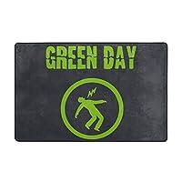 Green Day グリーン・デイ カーペット マット ラグ フランネルラグ 滑り止めカーペット 防臭 柔らか 防ダニ ラグマット 洗え アールシーズン 床暖房 ふわっと手触り 60*40inch ずれない 防音 パンチカーペット 抗菌 お祝い