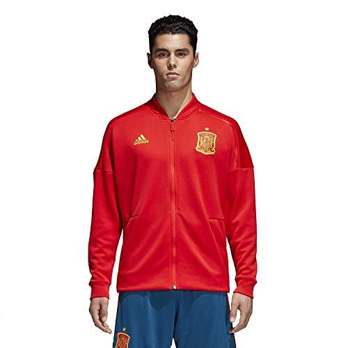 adidas, Giacca da Uomo Z.N.E Spagna, Rosso, XS