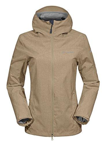 VAUDE Damen Jacke Womens Estero Jacket, Muddy, 42, 04990