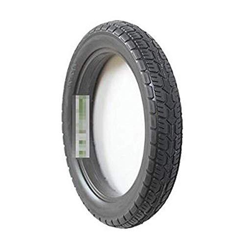 Neumáticos amortiguadores para patinetes eléctricos 14x2.125 Neumáticos sólidos antideflagrantes, Caucho de Alta Elasticidad microcerrado, Antideslizante, Resistente al Desgaste, sin Mantenimiento, s
