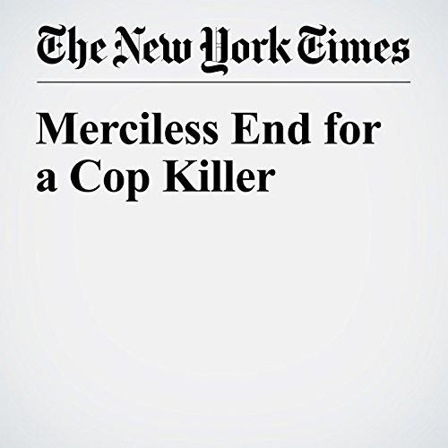 Merciless End for a Cop Killer cover art