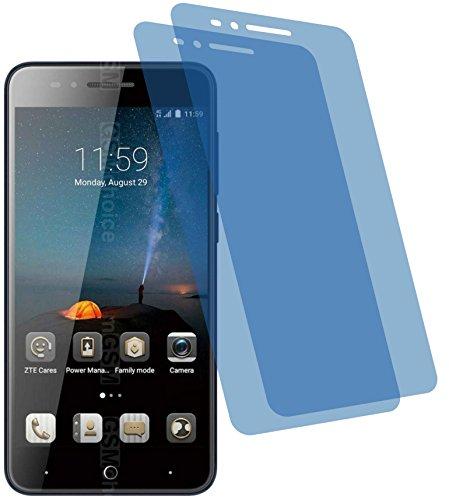4ProTec I 2X Crystal Clear klar Schutzfolie für ZTE Blade A612 Premium Bildschirmschutzfolie Displayschutzfolie Schutzhülle Bildschirmschutz Bildschirmfolie Folie