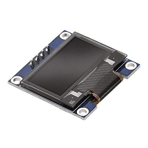 AZDelivery 0,96 Zoll OLED Display I2C 128 x 64 Pixel I2C Bildschirm Anzeigemodul mit weißen Zeichen kompatibel mit Arduino und Raspberry Pi inklusive E-Book!