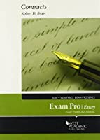 Brain's Exam Pro on Contracts, Essay 0314286047 Book Cover