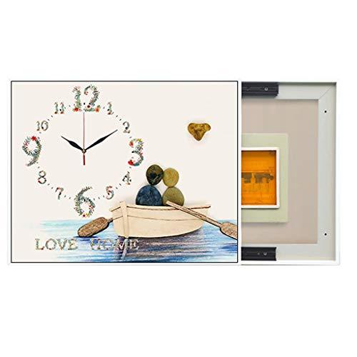 LITING Elektro-Meter Box Dekoration Malerei Moderne Nicht Leicht Zu Deformieren Silent-Track-No Trace Art Meter Box (Size : Outer50*70CM inner40*60CM)