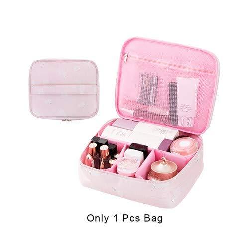 Flamingo Reise kosmetischer Speicher-Beutel Frauen-Kultur Wash-Beutel-Verfassungs-Fall-Organisator Gepäck Großhandel Zubehör Zubehör (Color : B7 Cosmetic Bag)