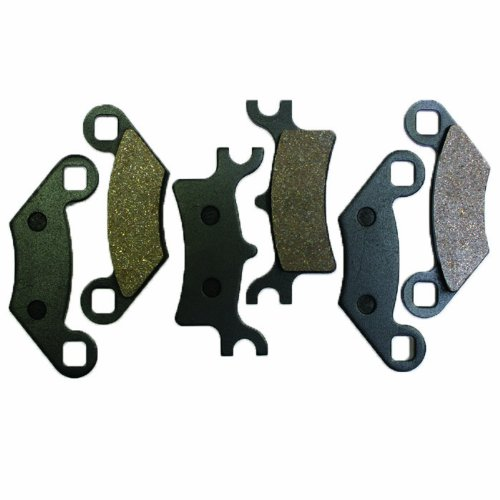 Caltric Front Rear Brake Pads Compatible With Polaris Magnum 330 2X4 4X4 Hds 2003 2004 2005 2006 Front Rear Brakes