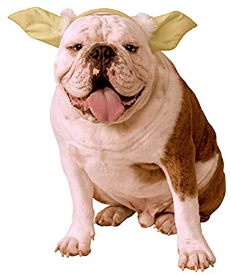 Star Wars Classic Yoda Dog Headpiece, Medium/Large from Rubies Costume Company