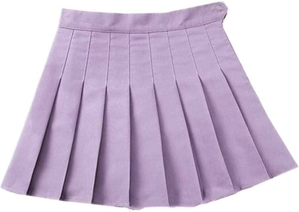 NP Summer Women Skirt Waist Female Pleated Skirts Harajuku