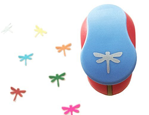 """Caryko 5/8"""" Clever Lever Craft Punch Paper Punch (Dragonfly)"""