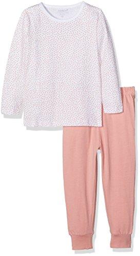 NAME IT NAME IT Baby-Mädchen NMFNIGHTSET NOOS Zweiteiliger Schlafanzug, Mehrfarbig (Bright White), 86