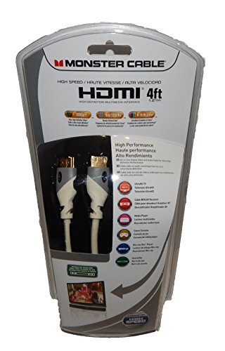Monster 122934 – 00 HDMI-kabel, zwart