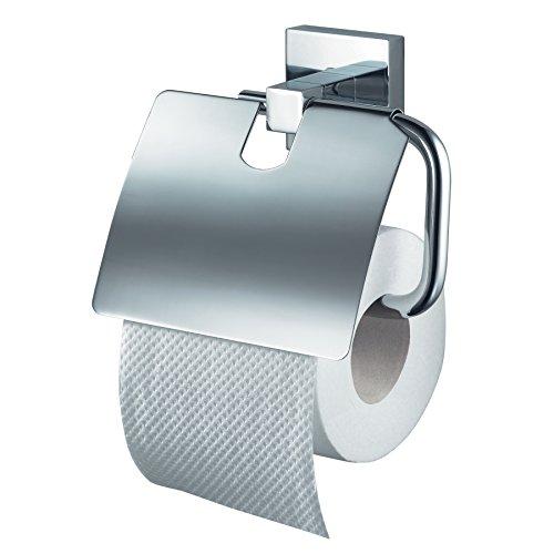Papierrollenhalter mit Deckel Mezzo Chrom
