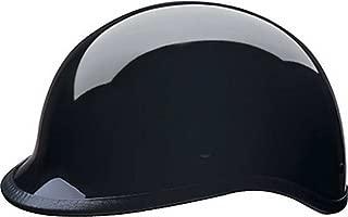 HCI Gloss Black Polo Motorcycle Half Helmet - ABS Shell 105-210