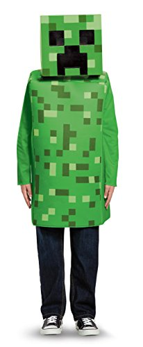 Minecraft DISK65642L klassiek kostuum, Creeper, S