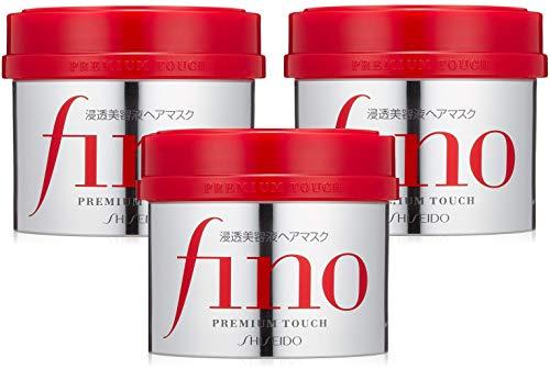 フィーノ(fino) まとめ買いフィーノ プレミアムタッチ 浸透美容液ヘアマスク 230グラム (x 3)