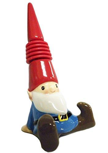Gnome in the Home Gnome Bottle Stopper Ceramic
