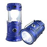 Archy Lampara Luz Solar para Emergencia o Acampar, Doble Función,...