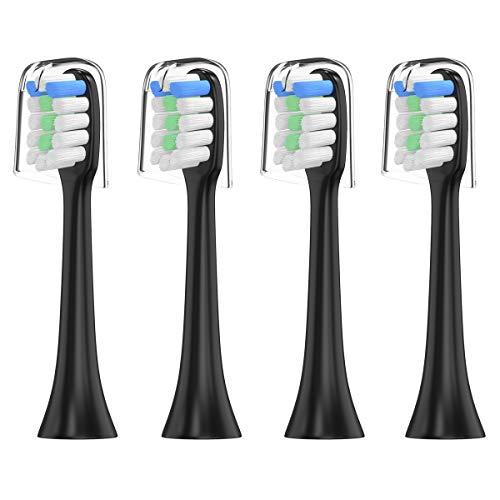 """YanBan - Lot de 4 têtes de brosse à dent taille""""normale"""" Têtes de brosse à dents pour XiaoMi Electric Toothbrush"""
