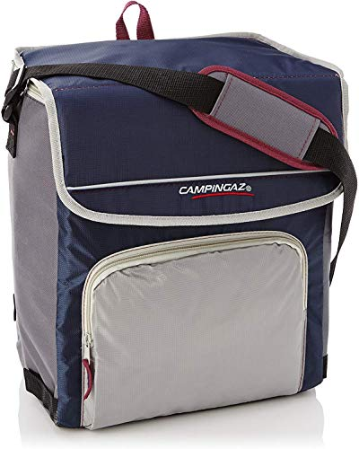 Campingaz Kühltasche Fold N Cool, 30 l, dunkelblau/grau, (39 x 25 x 38 cm)