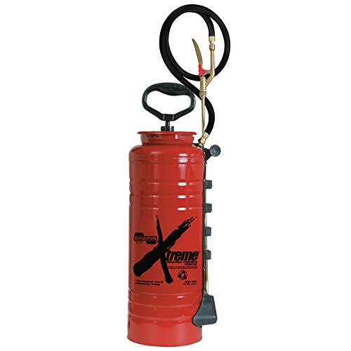 Chapin 19049 Industrial Xtreme Tri-Poxy Concrete Sprayer, 3.5-Gallon, Red