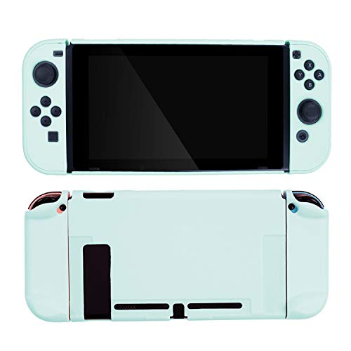 GeekShare Switch Protective Case Slim Cover Case for Nintendo Switch and Joy Con - Shock-Absorption and Anti-Scratch (Green)