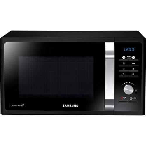 Samsung MS23F301TFK Microwave Oven, 800W, 23 Litre, Black