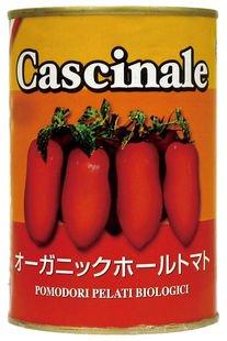 オーガニックホールトマト(イタリア産)×8個                  JAN:4571114145100
