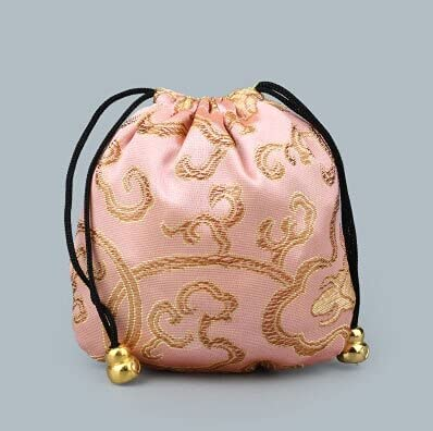 Max 72% OFF 20Pcs 11x11cm Silk Ranking TOP10 Bag Drawstring Necklace Pouch Mixed Br Colors