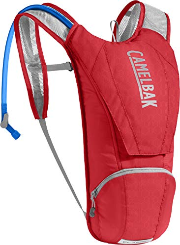 CamelBak Classic Crux Reservoir Hydration Pack, Racing Red/Silver, 2.5 L/85 oz