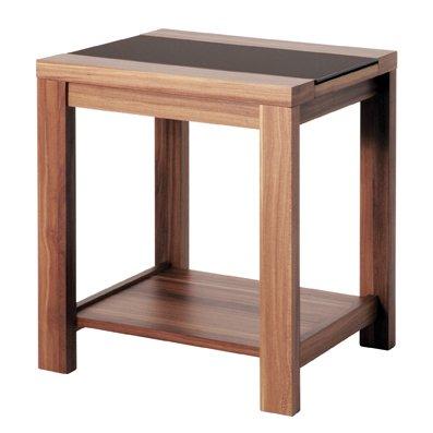 Haku Möbel 42615 Beistelltisch 42 x 40 x 50 cm, nußbaum