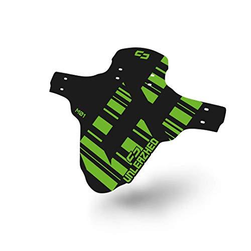 unleazhed M01 |Mountainbike Mudguard |Fahrrad Schutzblech |Spritzschutz |Schützt vor Schlamm und Schmutz | Made in Germany
