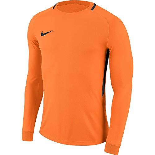 NIKE Men's Park III Football Long Sleeved t-Shirt, Hombre, Green Strike/Black/Black/(Black), S
