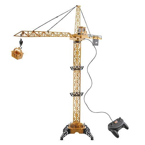 COSMOLINO Mega Crane, grúa eléctrica con Mando a Distancia, para niños a...